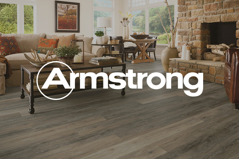 Ryan's Flooring is proud to carry Armstrong luxury vinyl tile, luxury vinyl plank and waterproof core flooring products.