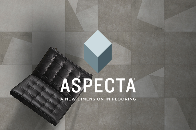 Ryan's Flooring is proud to carry Aspecta luxury vinyl tile, luxury vinyl plank and waterproof core flooring products.