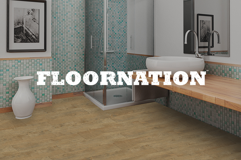 Ryan's Flooring is proud to carry Floornation luxury vinyl tile, luxury vinyl plank and waterproof core flooring products.