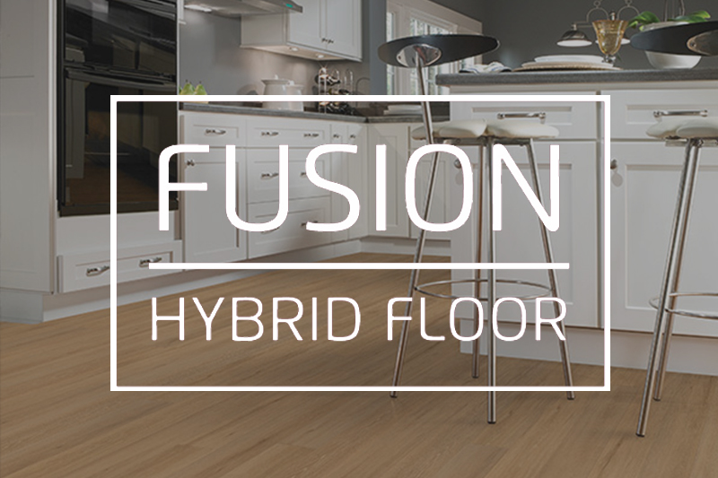 Ryan's Flooring is proud to carry Fusion Hybrid Floors luxury vinyl tile, luxury vinyl plank and waterproof core flooring products.