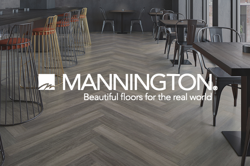 Ryan's Flooring is proud to carry Mannington luxury vinyl tile, luxury vinyl plank and waterproof core flooring products.