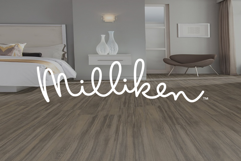 Ryan's Flooring is proud to carry Milliken luxury vinyl tile, luxury vinyl plank and waterproof core flooring products.