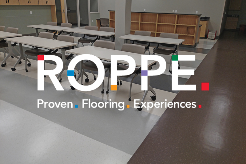 Ryan's Flooring is proud to carry Roppe Commercial flooring products.
