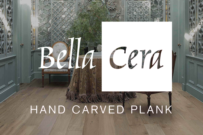 Ryan's Flooring is proud to carry Bella Cera hardwood flooring products.