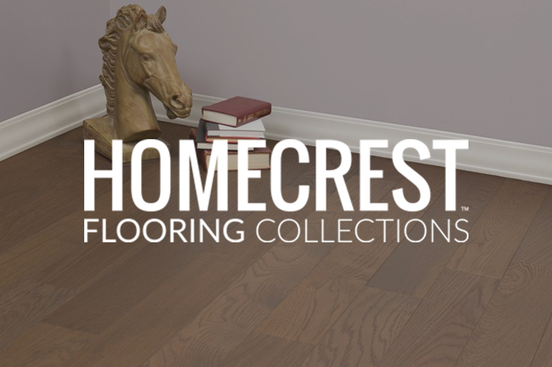 Ryan's Flooring is proud to carry Homecrest hardwood flooring products.