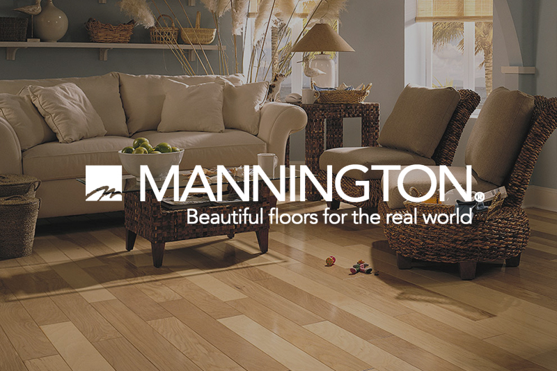 Ryan's Flooring is proud to carry Mannington hardwood flooring products.