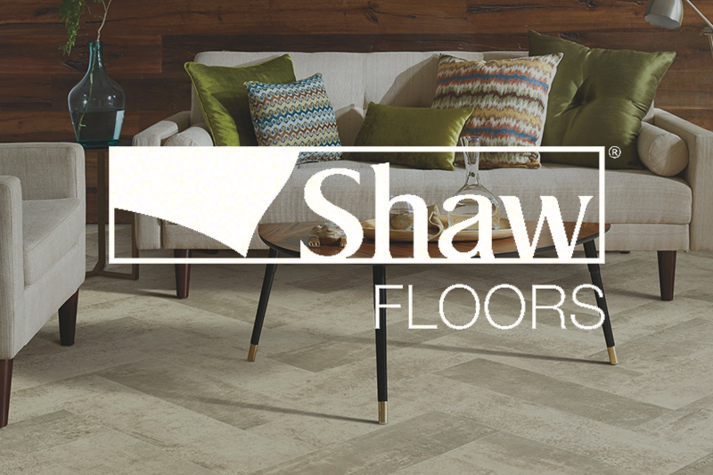 Ryan's Flooring is proud to carry Shaw sheet vinyl products.